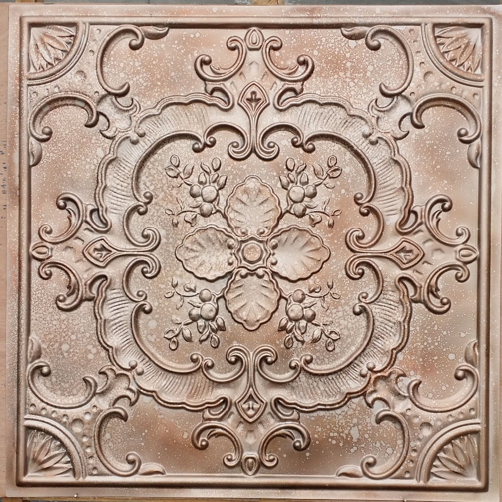 Pl19 Faux Pressed Tin Ceiling Tiles