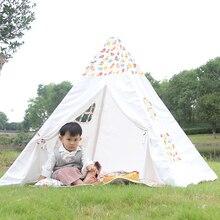 17 Печать Дети Индийские Игрушки Вигвама Палатка Крытый Детские Игры палатка Дети Портативный Холст Типи Игры Дома Игрушки для Детей палатка(China (Mainland))