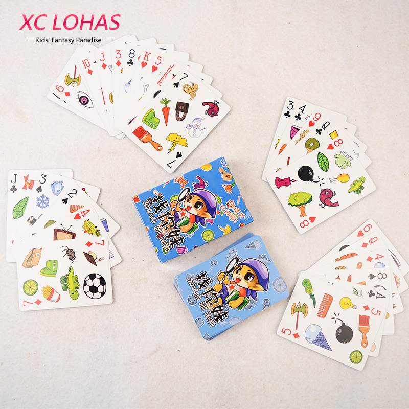 XC LOHAS Fast-Paced Observation Card Let's Spot Match Game