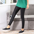 2016 Autumn New Women Thin Leggings Soft Breathable Shiny Slim Pencil Leggings Ladies Pants Female Trousers