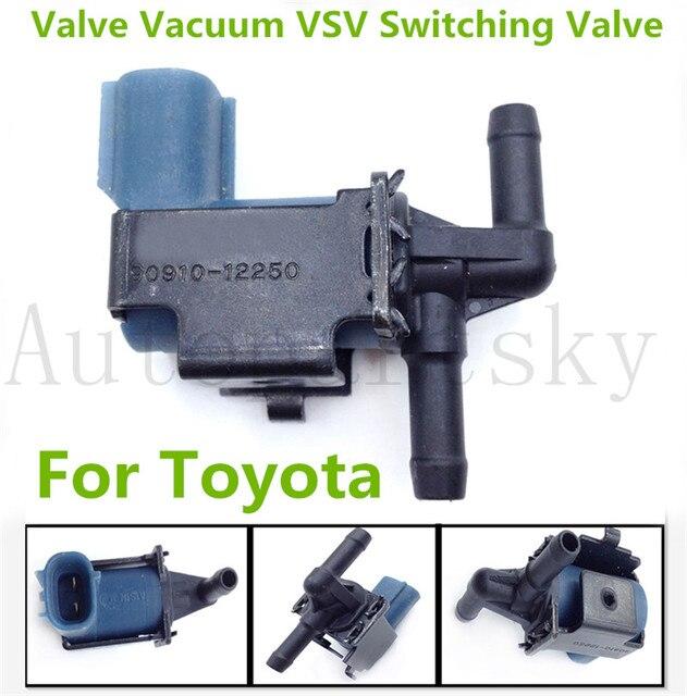 90910 12250 OEM Ventil Vakuum VSV Schalt Ventil Für Toyota Tacoma 2,4 L 90910 12250 9091012250 Hohe Qualität