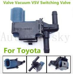 90910-12250 OEM zawór próżniowy VSV zawór przełączający dla Toyota Tacoma 2.4L 90910 12250 9091012250-wysoka jakość