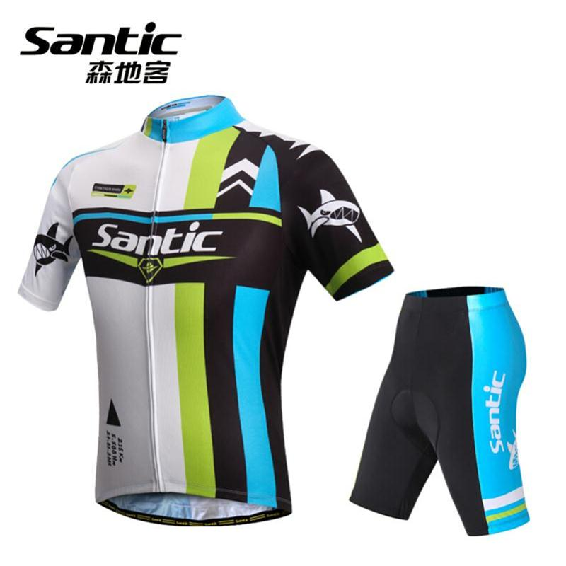 Men Cycling Wear Set Bicycle Road MTB Mountain Bike Breathable Jersey clothing Set Padded Bicycle Sportswear teleyi men cycling jersey bike long sleeve outdoor bike jersey bicycle clothing wear breathable padded bib pants set s 4xl