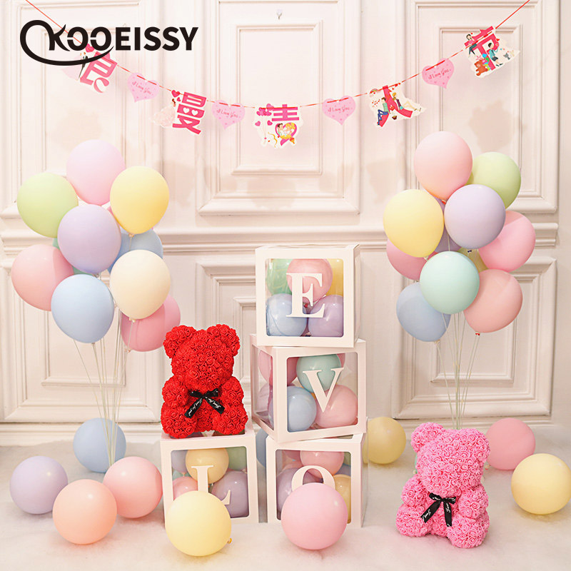 Toys Gifts Acrylic Decor Baby Shower Supplies Table Confetti Birthday Party