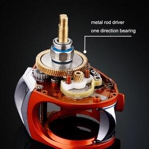 Image 3 - YUYU Baitcasting moulinet de pêche métal bobine frein 6 kg haute vitesse 7.2: 1 leurre bobine 14 + 1BB magnétique frein appât moulage bobine
