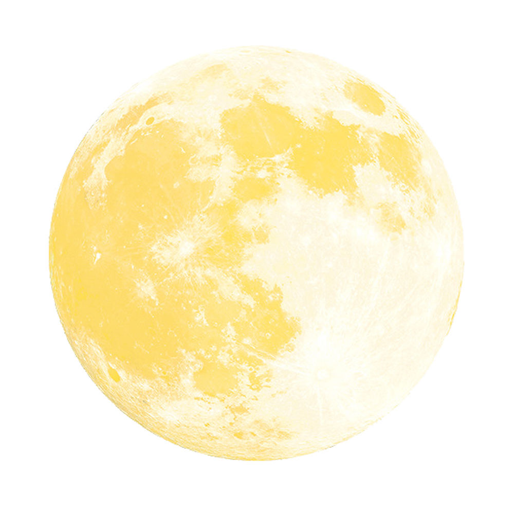 Moon Glow In the Dark Wall Stickers Home Decor Poster Kids Rooms ...