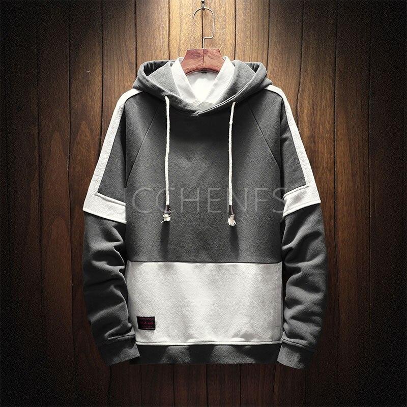 JCCHENFS 2018 Autumn New Arrival Men's Hoodie Hip hop Oversized Loose Streetwear Hooded Sweatshirt Hoody Brand Men's Clothing