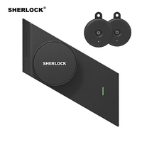 Sherlock S2 Fingerprint + Password Electronic Door Lock Add 2Pcs Keys Electric Smart Lock Bluetooth Wireless APP Phone Control