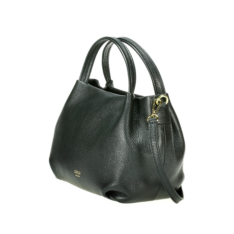 lulu milano Genuine leather leather lychee double bag made in Italy  85223-s 3