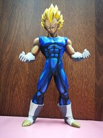 Anime Dragon Ball Z Vegeta Super Saiyan Manga Chocolate Color Version PVC Action Figure 26CM