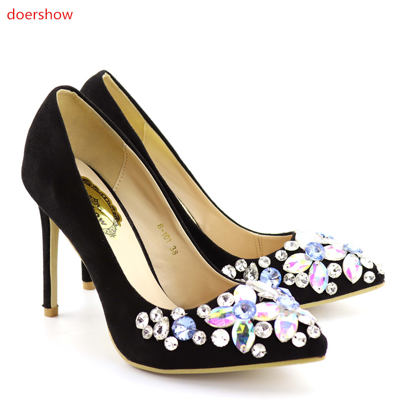doershow Italian Matching Shoes and Bag Set Matching Italian Shoe and Bag Set for Women Italy Shoe and Bag Set 2017  FG1-7 doershow african shoes and bags fashion italian matching shoes and bag set nigerian high heels for wedding dress puw1 19