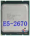 Intel Xeon E5 2670 2.60 ГГц 20 МБ LGA 2011 CPU Процессор 8-ядерный SROH8 C1 115 Вт E5-2670