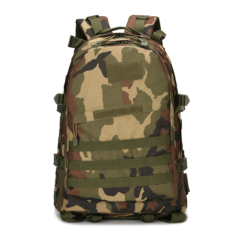 High quality Unisex Outdoor Military Army Tactical Backpack Trekking Travel Rucksack Camping Hiking Trekking Camouflage Bag woodland camo sports outdoor military tactical backpack travel bags high quality camping bag hiking trekking bagpack