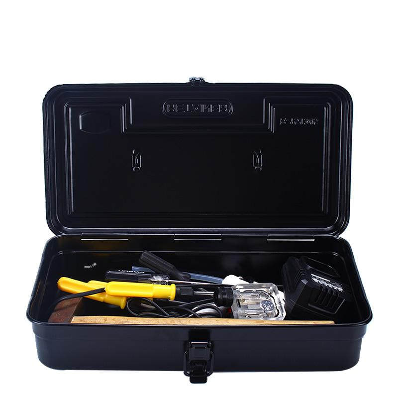 New Iron Metal Hand Toolbox Power Tools Storage Box Multi - Purpose Portable Repair Tool Box Hardware Accessories