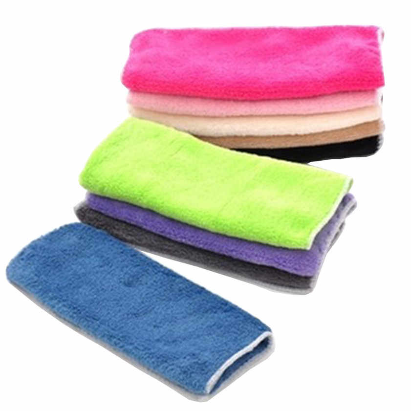 2019 HOT SALE  High Efficient Anti-grease Color Dish Cloth Bamboo Fiber Washing Towel Magic Kitchen Cleaning Wiping Rags #30