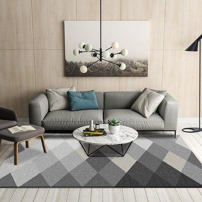 Tapis de sol de chambre florale romantique, tapis d'impression Rose douce pour salon moderne, tapis de fleur de Style minable de concepteur décoratif