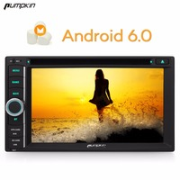 Pumpkin 2 Din 7''Android 6.0 Universal Car DVD Player Quad Core GPS Navigation Car Stereo DAB+ Bluetooth Wifi Radio Headunit