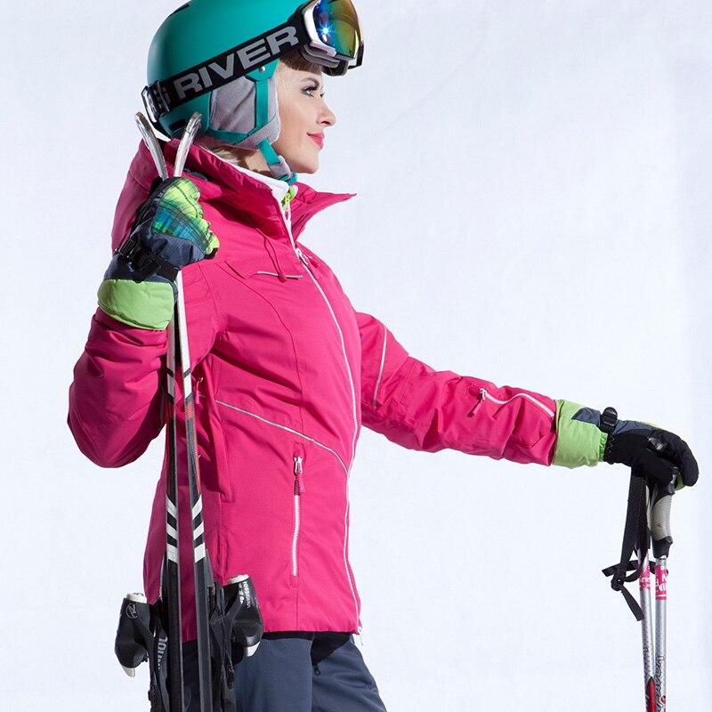 RUNNING RIVER marque femmes veste de Ski coupe-vent neige veste d'hiver pour les femmes veste de sport d'hiver manteau de Ski en plein air # A4032
