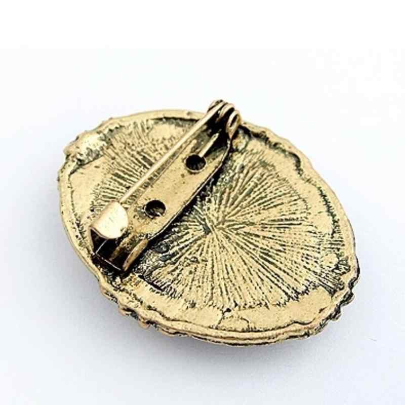 Dell'annata Del Cammeo Spilla Elegante Spille Antico Ritratto di Nozze Spilla Spille Design Creativo
