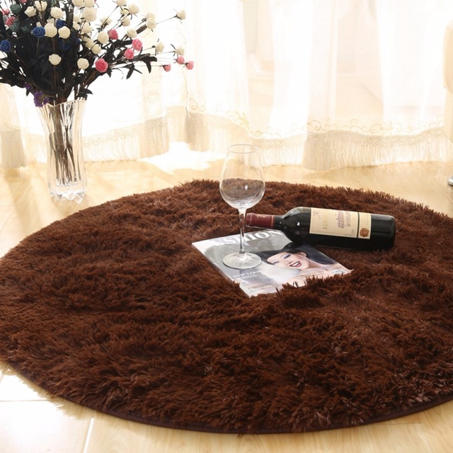 2017 The Best Quality Large Round Mats Rugs Circle Circular Plain Modern Carpet Gy