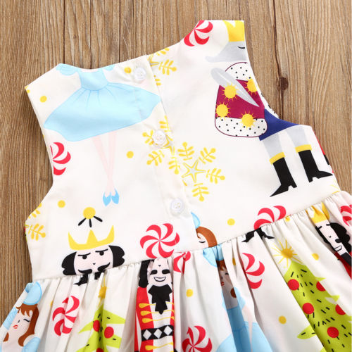 Infant-Girls-Princess-White-Dress-Kids-Baby-Party-Costume-Pageant-Round-Neck-Floral-Summer-Xmas-Sleeveless-Casual-Girl-Dresses-5