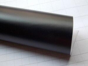Image 3 - 프리미엄 블랙 매트 비닐 자동차 포장 자동 새틴 매트 블랙 호 일 자동차 랩 필름 자동차 스티커 다른 크기/롤