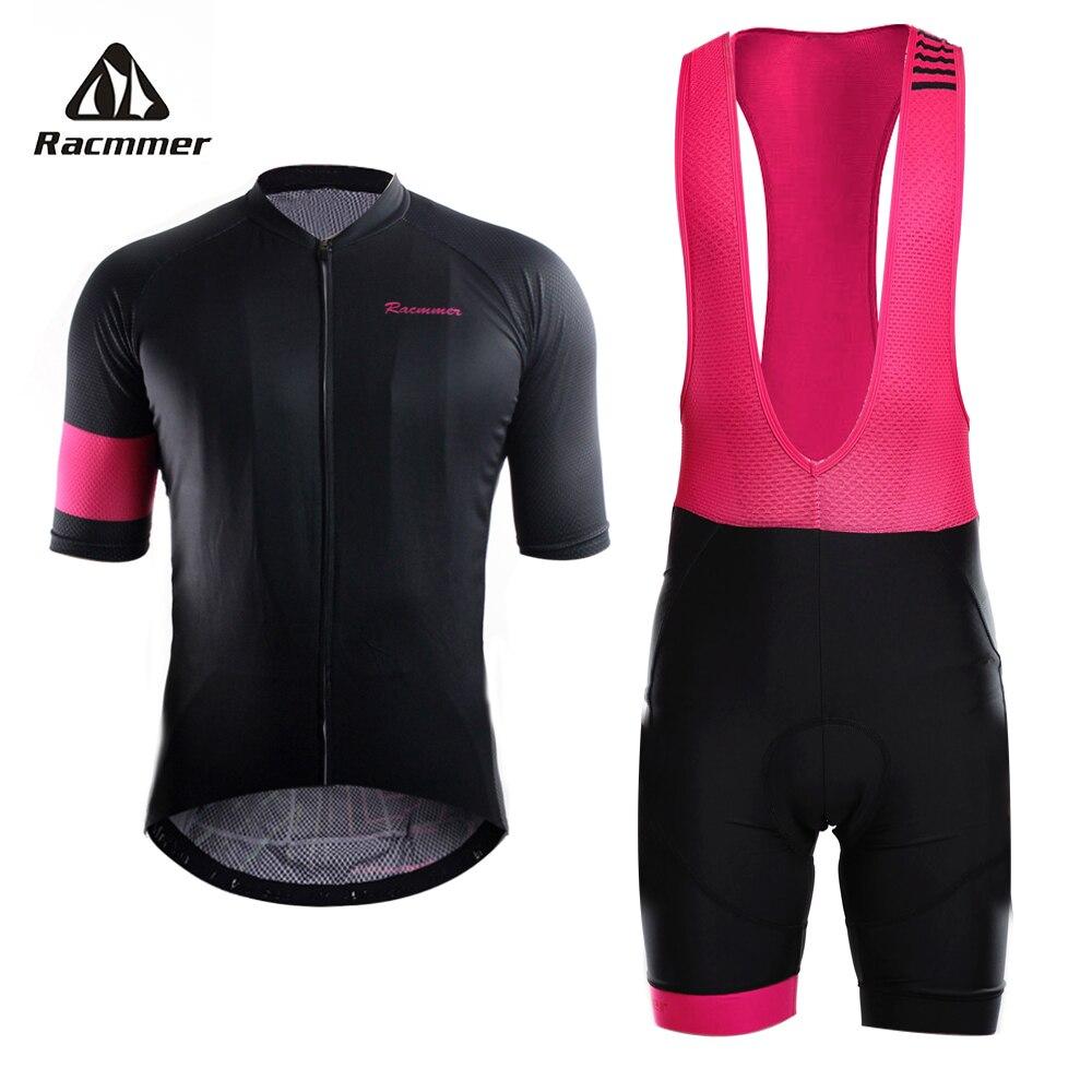 Racmmer 2018 Pro Estate In Bicicletta Jersey Set Abbigliamento Mountain Bike MTB Della Bicicletta Vestiti di Usura Maillot Ropa ciclismo Uomini Ciclismo Set