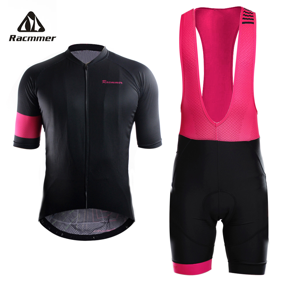 цена на Racmmer 2018 Pro Summer Cycling Jersey Set Mountain Bike Clothing MTB Bicycle Clothes Wear Maillot Ropa Ciclismo Men Cycling Set