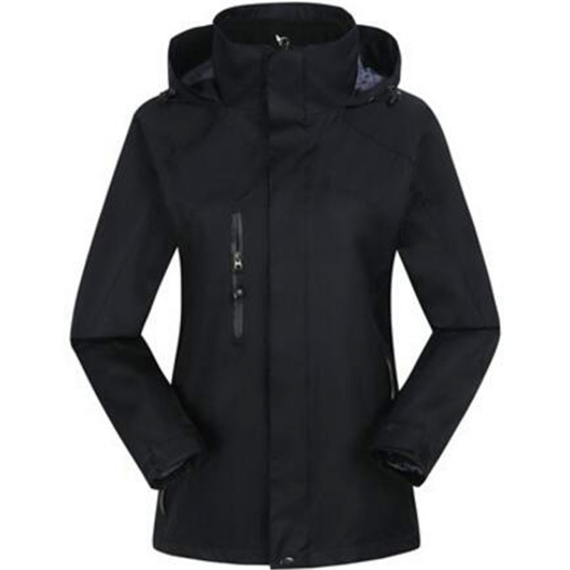 Thermal Solid Plus Size Full Sleeve Clothing Thickening Fleece Warm Hooded Adult  Waterproof Windproof Snowboarding Jackets