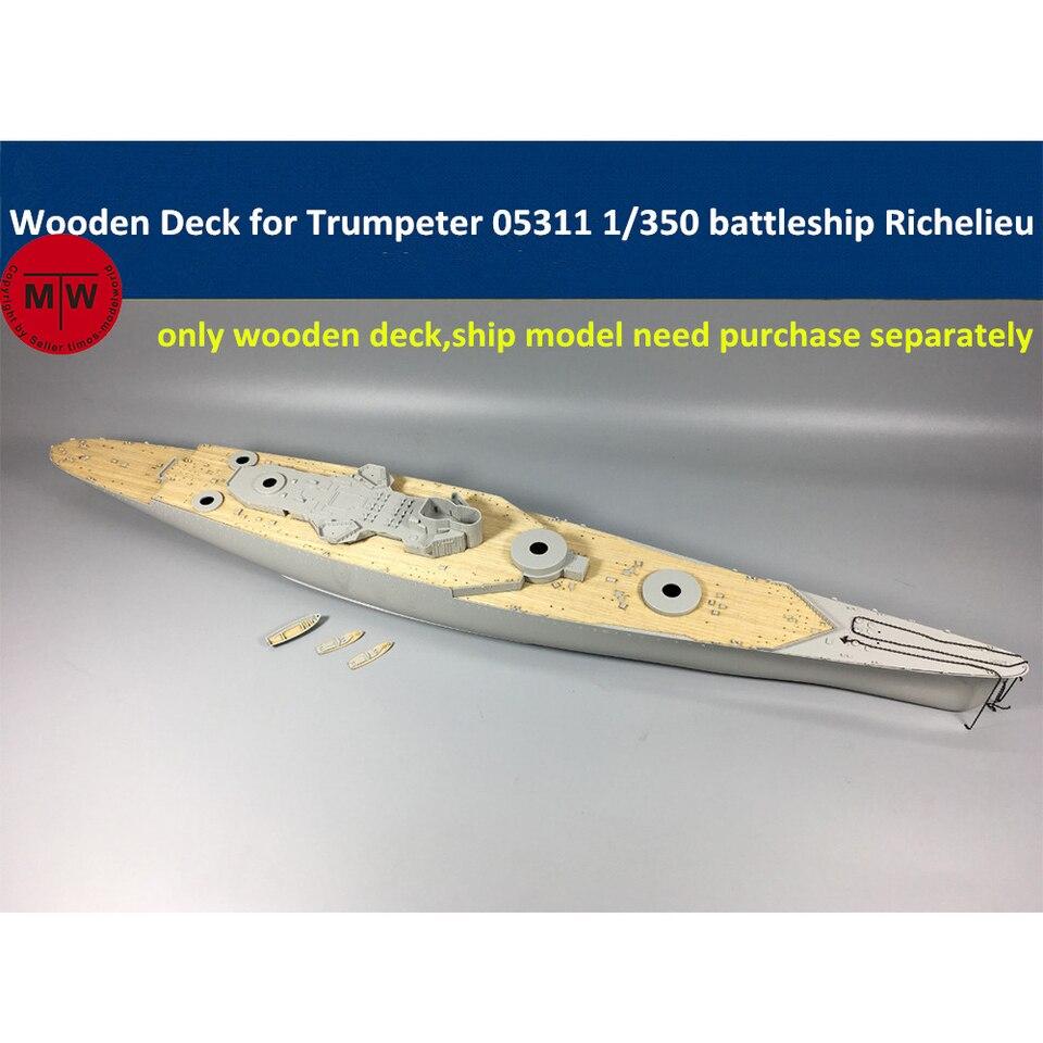 Trumpeter 1//350 05311 French battleship Richelieu