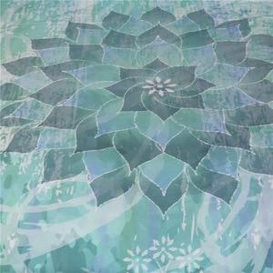 Image 3 - CAMMITEVER Lotus Mandala Print Bedding Set Queen Size Floral Pattern Duvet Cover Bohemian Bedclothes Lotus Bed Set