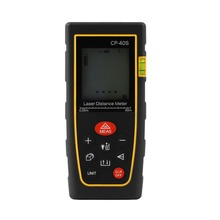 40M Handheld Digital Laser distance meter font b Rangefinder b font Range finder Bubble level Tape