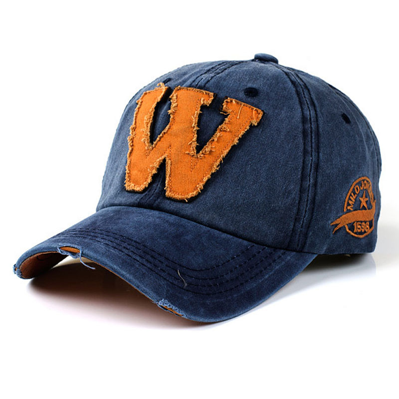 Pussy Money Weed Plain Adjustable Cowboy Cap Denim Hat for Women and Men