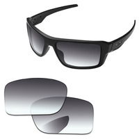 e7b62ff734 Grey Gradient Polarized Replacement Lenses For Double Edge Sunglasses Frame  100 UVA UVB Protection