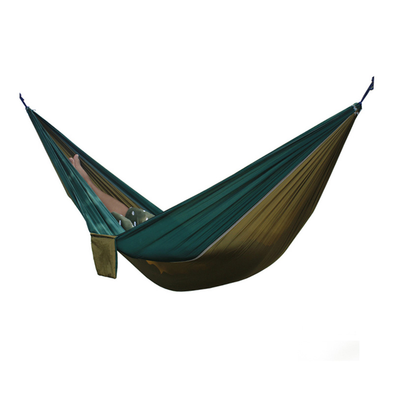 Best 2 People Portable Parachute Hammock for outdoor Camping(Camel with dark green edge) 270*140 cm best price 5pin cable for outdoor printer