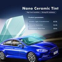 1 52x10m Window Film 65 VLT Nano Ceramic Auto Tints 2ply Home Window Tints