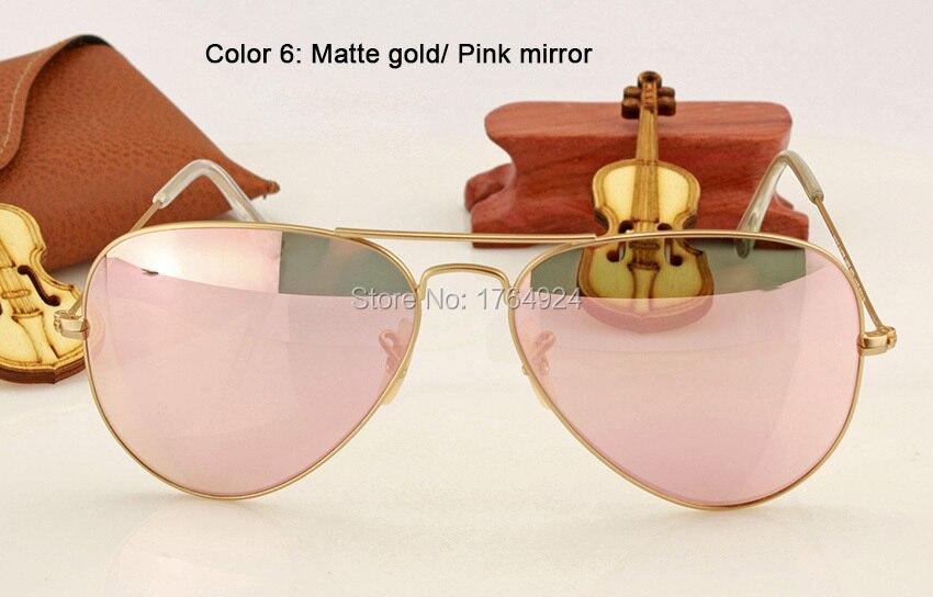 RB3025 112-Z2 matte gold pink mirror (1)