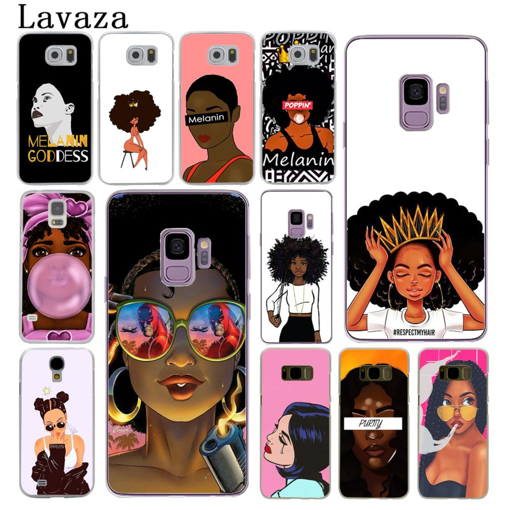 Cellphones & Telecommunications Half-wrapped Case Cell Phone Case For Samsung Galaxy S9 S8 S7 Edge Plus A6 A7 A8 A9 J4 J6 Plus 2018 Note 8 9 Cover Afro Girls Black Women Art