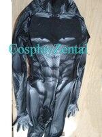 2018 Newest Batman Cosplay Costume Spandex 3D Shade Batman Superhero Cosplay Zentai Suit