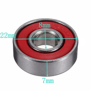 Image 5 - High Quality 10Pcs 608zz Skating Rolling Skateboard Longboard Wheel Skate Bearings Roller ABEC 7 Set For Skate Shoes Scooter