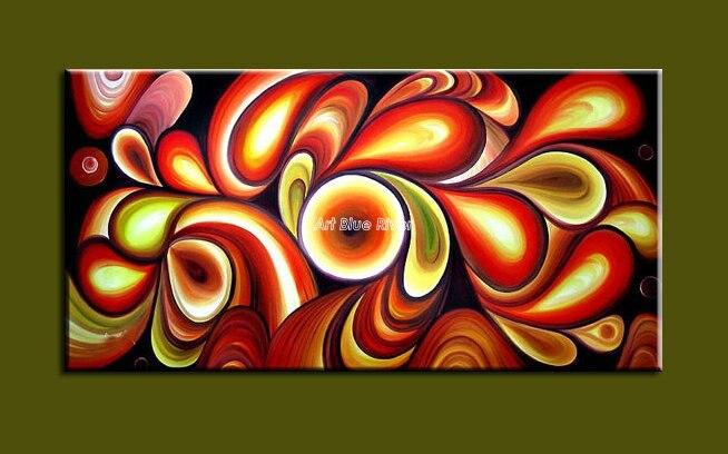 Popular red black wall art buy cheap red black wall art for Imagenes de cuadros abstractos famosos