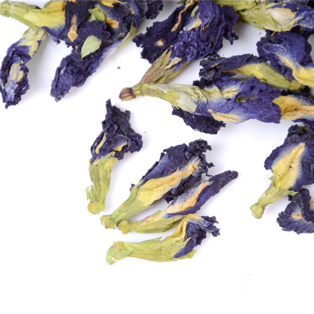 100g.clitoria Ternatea Tea.thai Blue Butterfly Pea Tea.vitamin A Mixed In Coffee Green Living Put In Tea Infuser Without Cup New #4