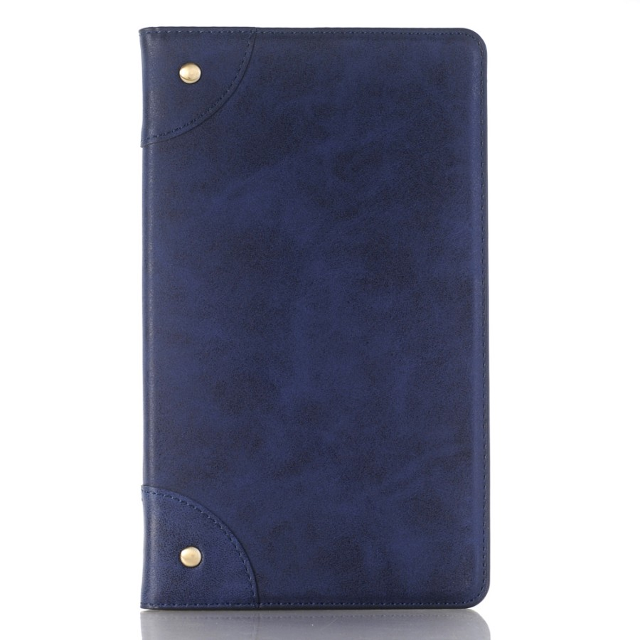 Vintage Materials Tablet Case For Huawei Mediapad T3 8.0 KOB-L09 KOB-W09 Magnetic Folding Stand Smart PU Leather Cover