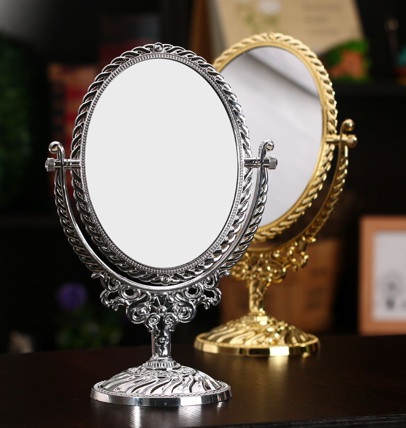 Online buy wholesale silver oval mirror from china silver for Wholesale mirrors