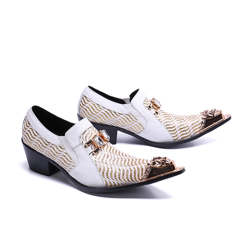 2019 Spring new British style casual business foot-binding mens shoes genuine leather pointed toe increase wedge handmade shoes2019 Spring new British style casual business foot-binding mens shoes genuine leather pointed toe increase wedge handmade shoes