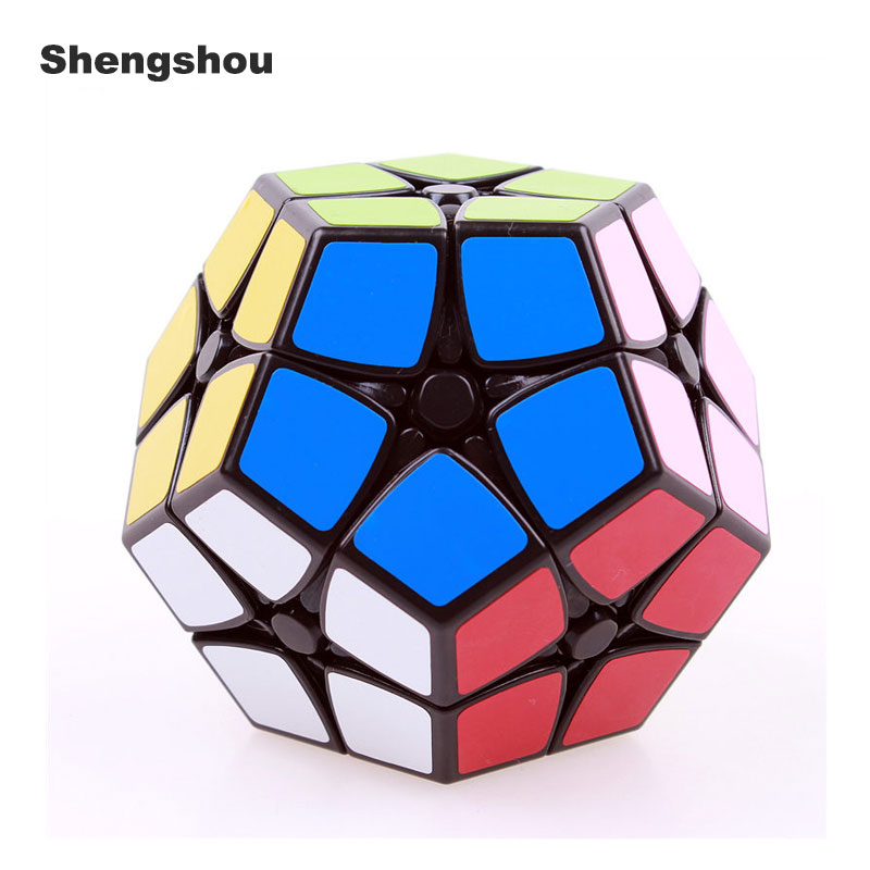 Shengshou Megaminxeds 2x2x2 Szakmai sebesség Magic Cube Puzzle matrica 12 oldalak cubo magico Oktatási ajándék játékok gyerekeknek