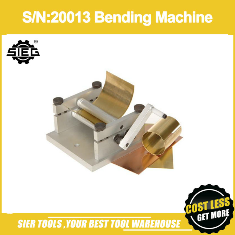 Free Shipping S N 20013Bending Machine SIEG Mini Bending Brake Manual Press Brake machine