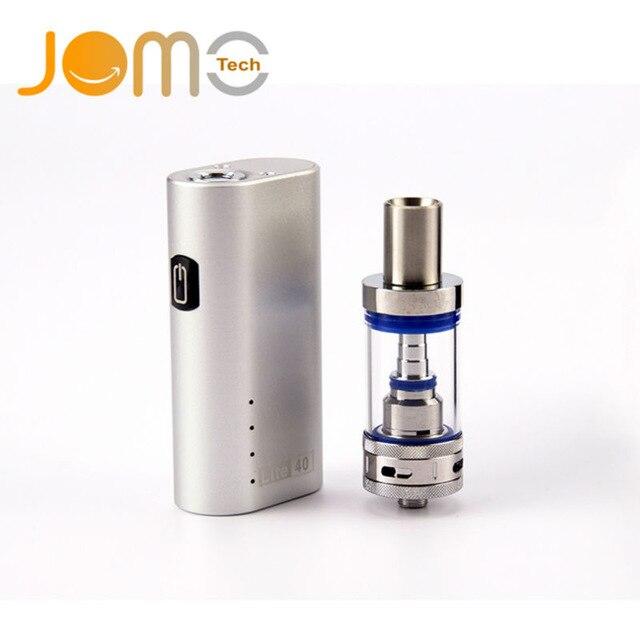 D'origine Jomotech cigarette Électronique 40 w vaporisateur Rechargeable 2200 mah 18650 batterie 3 ml Vaporisateur E cigarette kit