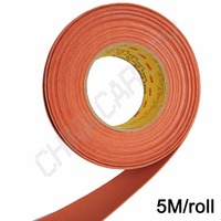 5m*5cm suede felt tape For Squeegee With Self Adhensive 3M Glue Replacement Suede Felt Edge For Squeegee Car Wrap Tools A18 5M
