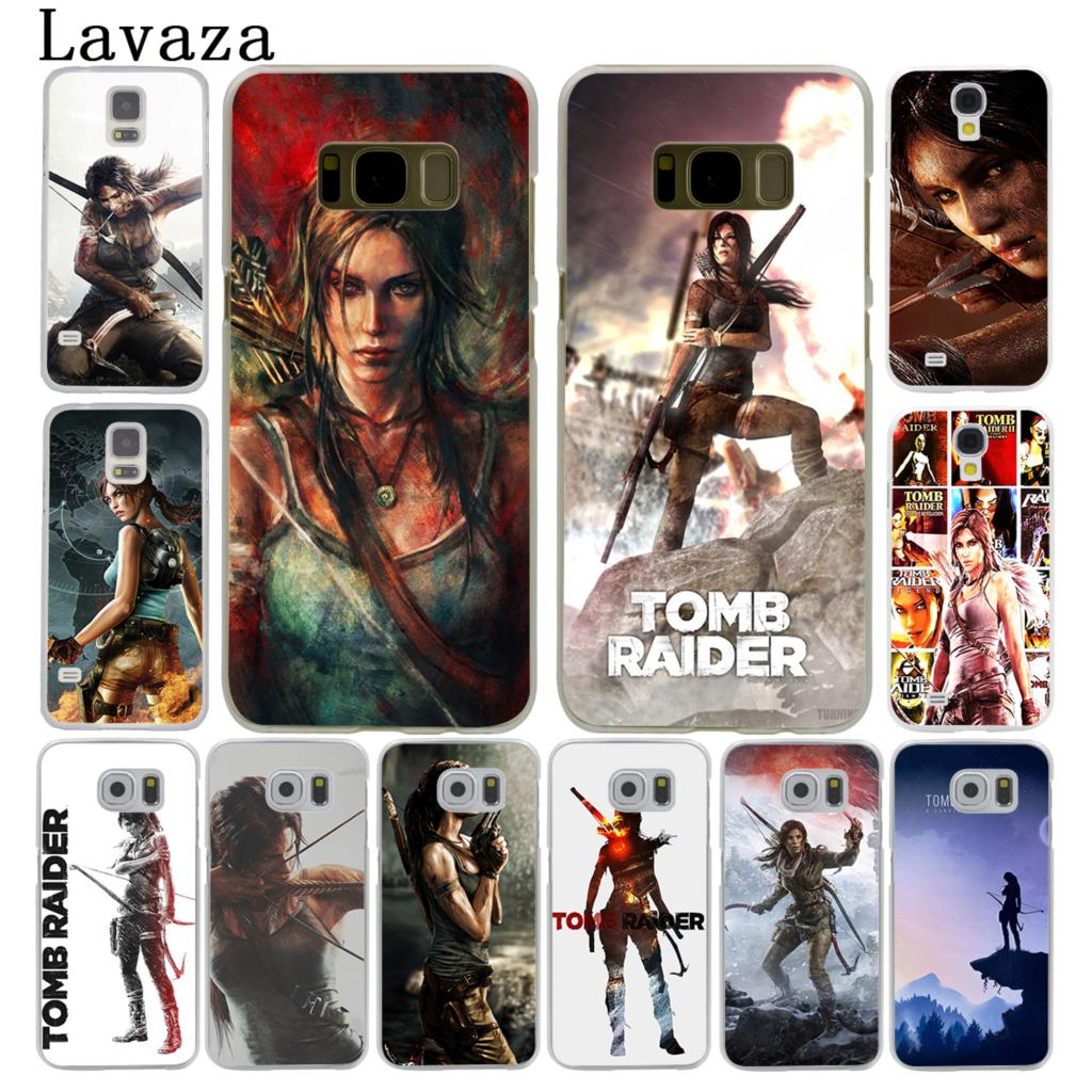 Lavaza Lara Croft Tomb Raider Hard Style Phone Shell Case for Samsung Galaxy S7 S6 Edge S3 S4 S5 & Mini S8 S9 Plus Cover ...